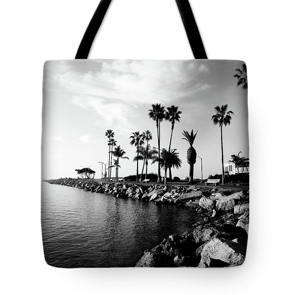 Newport Beach Jetty Tote Bag by Paul Velgos