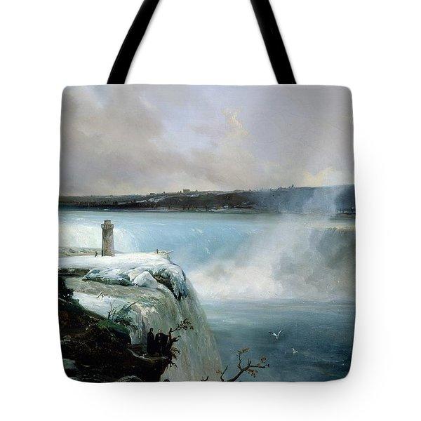 Niagara Falls Tote Bag by Jean Charles Joseph Remond