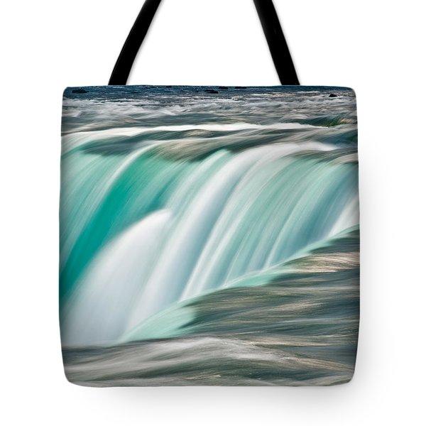 Niagara Falls Number 2 Tote Bag by Steve Gadomski