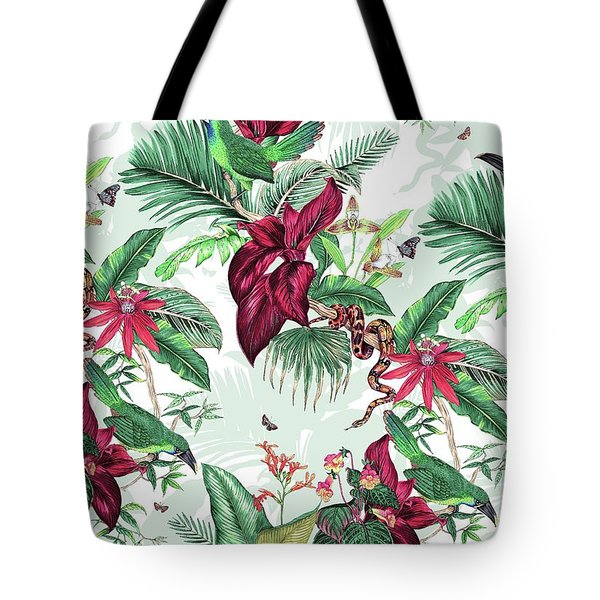 Nicaragua Tote Bag by Jacqueline Colley