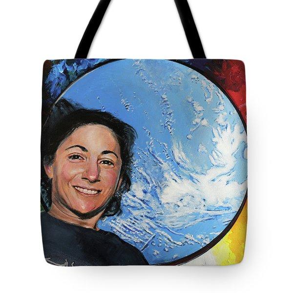 Nicole Stott Tote Bag by Simon Kregar
