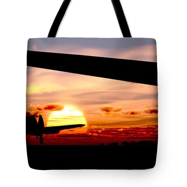 Night Hawks Tote Bag by Richard Rizzo