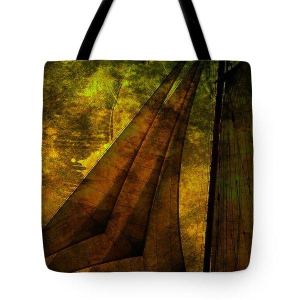 Night Sailing Tote Bag by Susanne Van Hulst