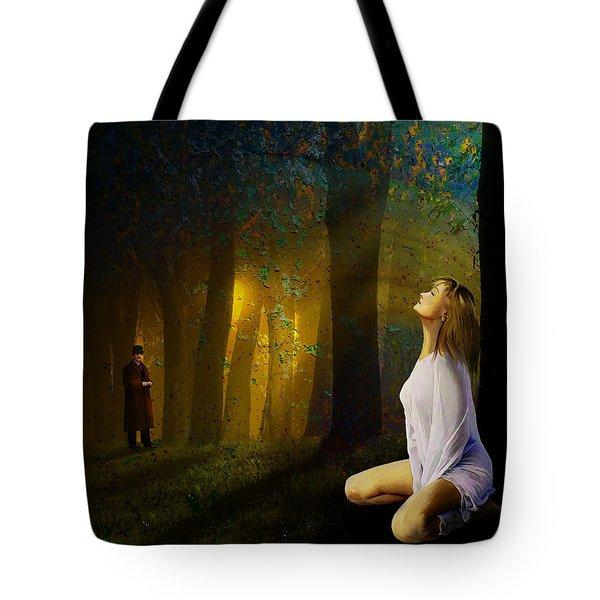 Night Vision Tote Bag by Van Renselar