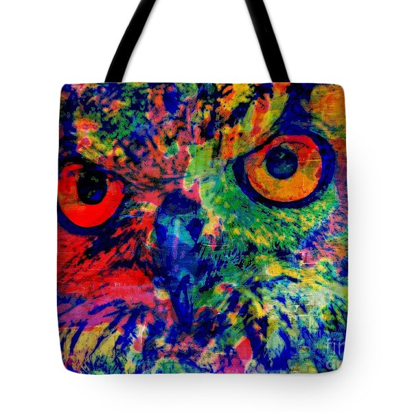 Nightwatcher Tote Bag by WBK