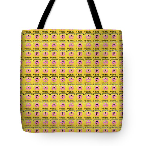 No Parking Tote Bag by Ethna Gillespie