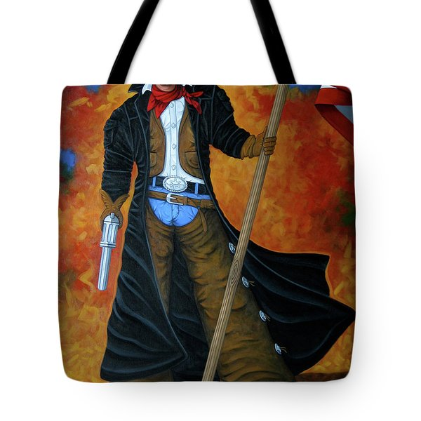 No Trespassing Tote Bag by Lance Headlee