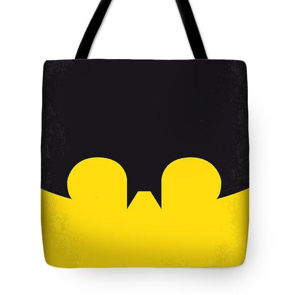 No008 My Batman minimal movie poster Tote Bag by Chungkong Art