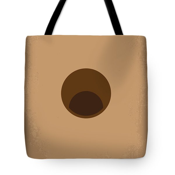 No031 My Groundhog Minimal Movie Poster Tote Bag by Chungkong Art