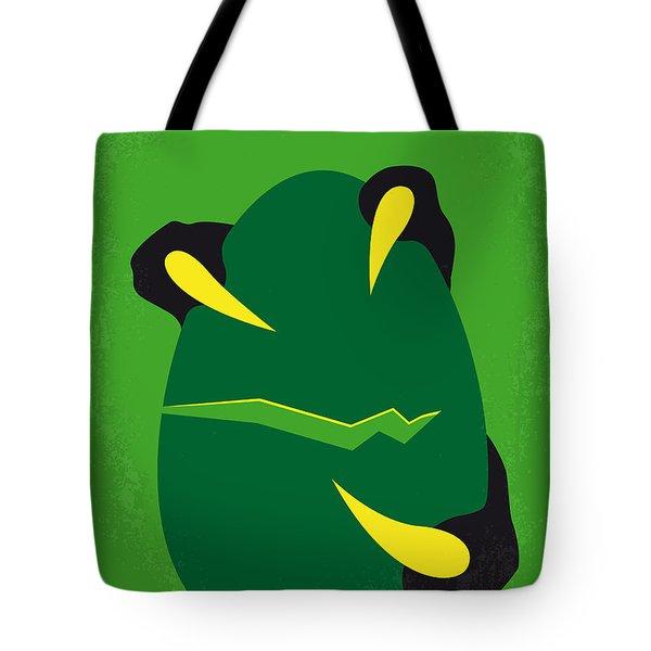 No047 My Jurassic Park Minimal Movie Poster Tote Bag by Chungkong Art