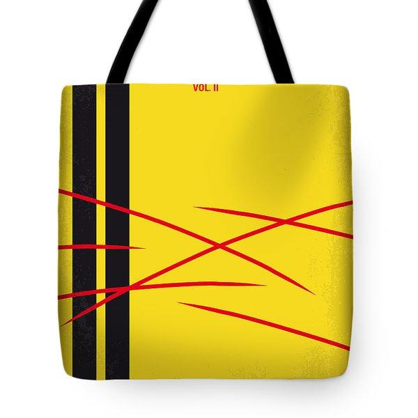 No049 My Kill Bill-part2 Minimal Movie Poster Tote Bag by Chungkong Art