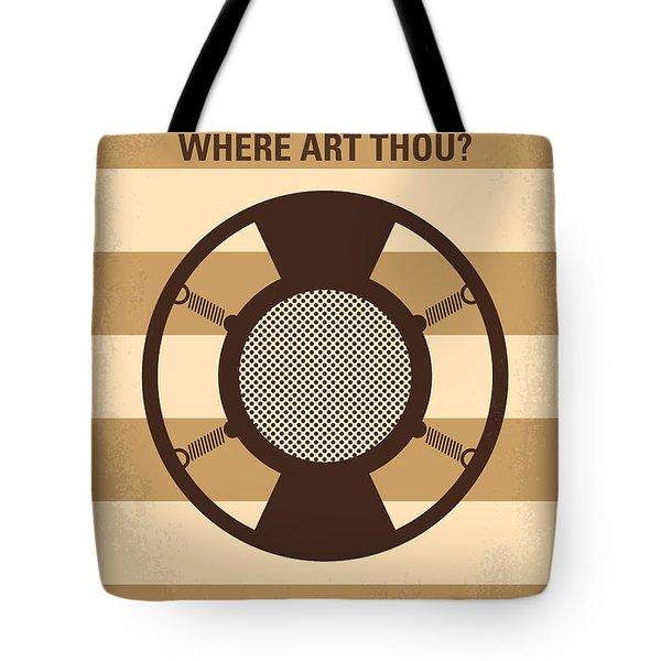 No055 My O Brother Where Art Thou minimal movie poster Tote Bag by Chungkong Art