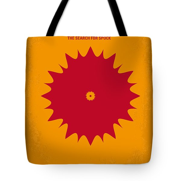 No083 My Star Trek 3 minimal movie poster Tote Bag by Chungkong Art