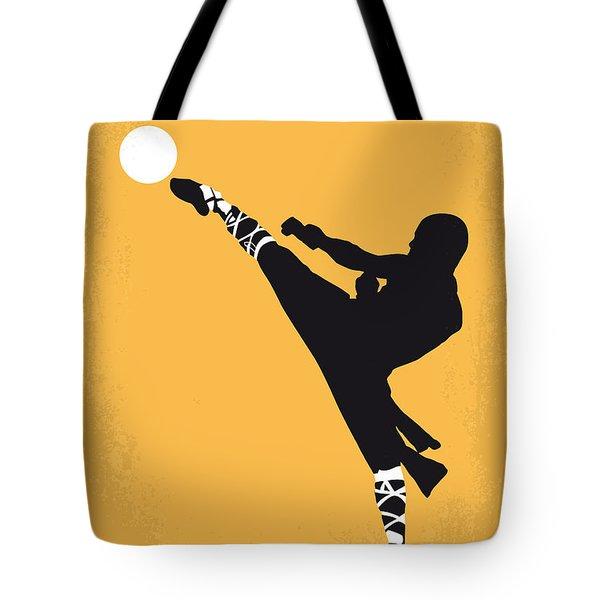 No480 My Shaolin Soccer Minimal Movie Poster Tote Bag by Chungkong Art