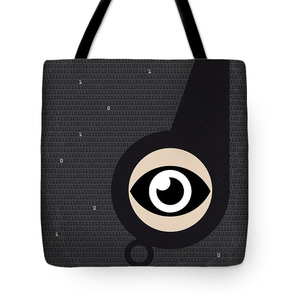 No598 My Citizenfour Minimal Movie Poster Tote Bag by Chungkong Art