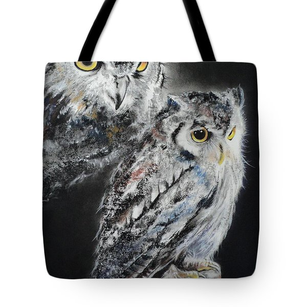 Noble Owl Guardian Of The Afterlife Tote Bag by Carla Carson