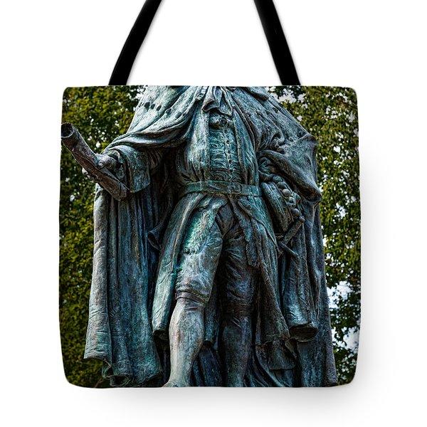 Norborne Berkeley - Baron De Botetourt Tote Bag by Christopher Holmes