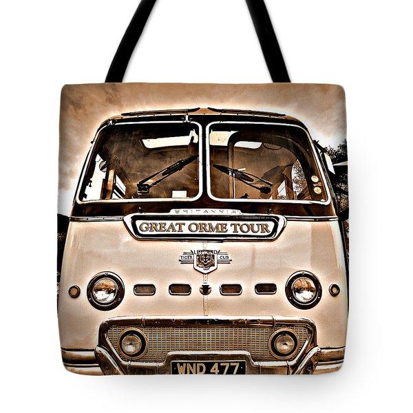 North Wales Nostalgia Tote Bag by Meirion Matthias