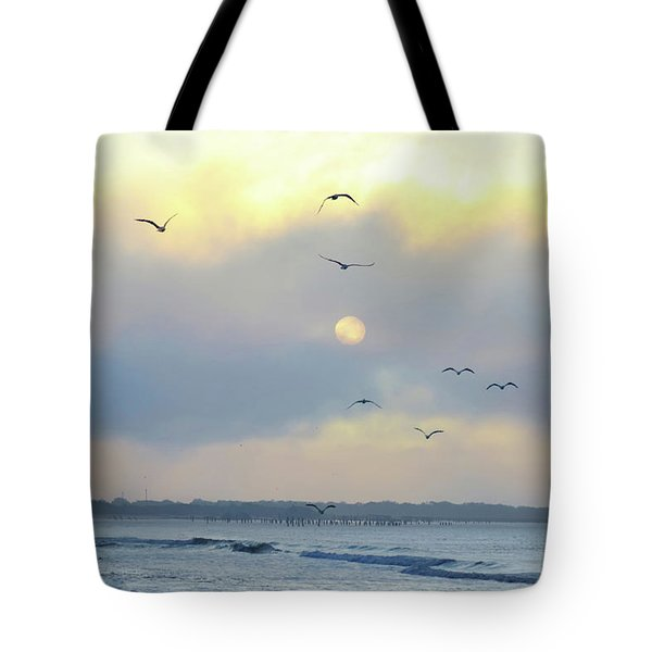 North Wildwood Beach Tote Bag by Bill Cannon