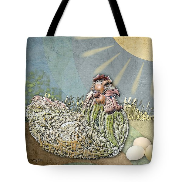 Now What.... Tote Bag by Arline Wagner