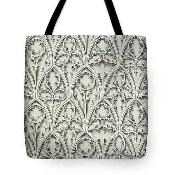 Nowton Court Tote Bag by Augustus Welby Pugin