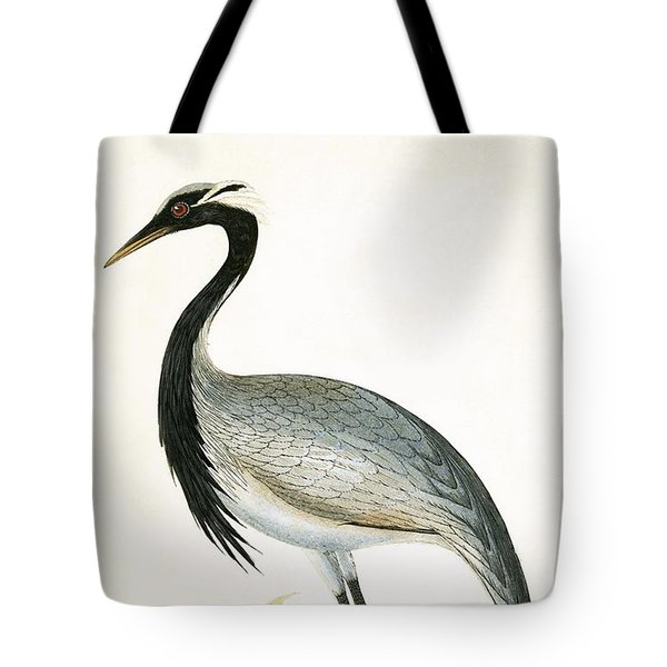 Numidian Crane Tote Bag by English School