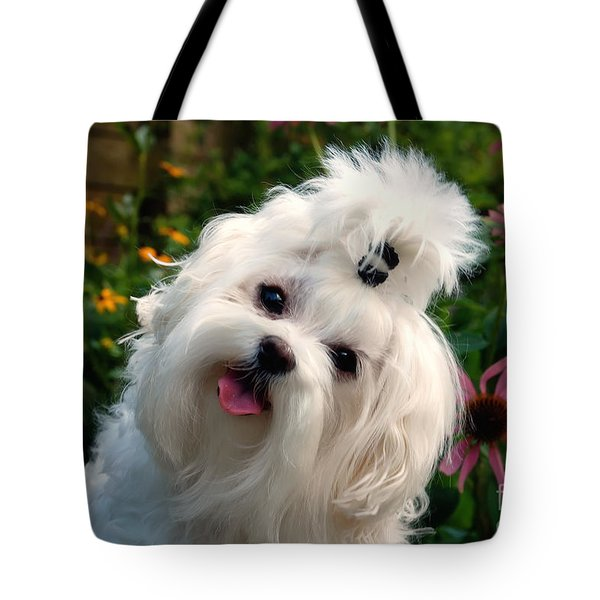 Nuttin' But Love Tote Bag by Lois Bryan