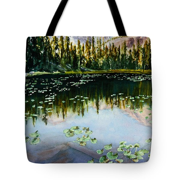 Nymph Lake Tote Bag by Mary Benke