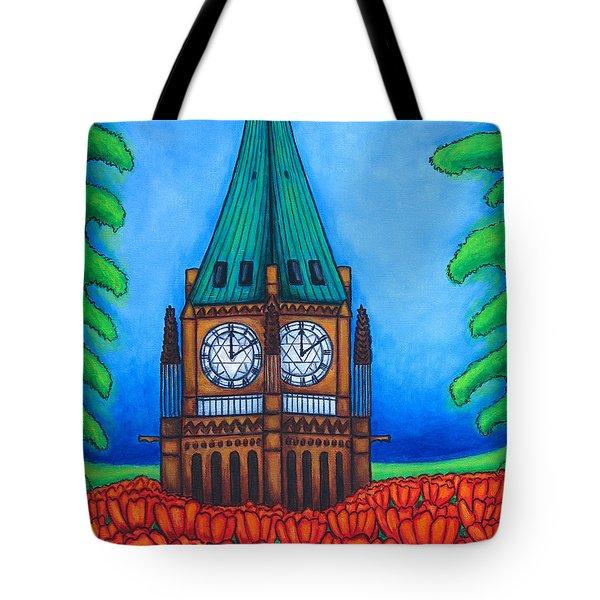 O Canada Tote Bag by Lisa  Lorenz