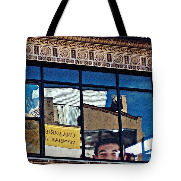 O Happy Day Tote Bag by Sarah Loft
