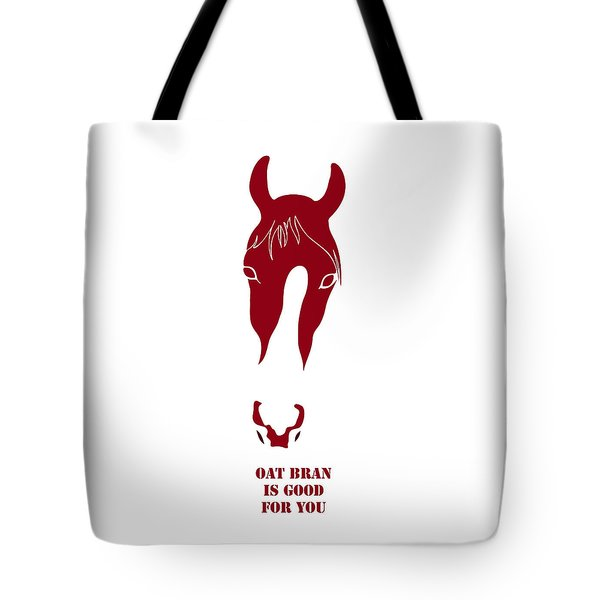 Oat Bran Is Good For You Tote Bag by Frank Tschakert