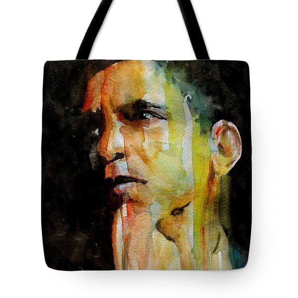 Obama Tote Bag by Paul Lovering