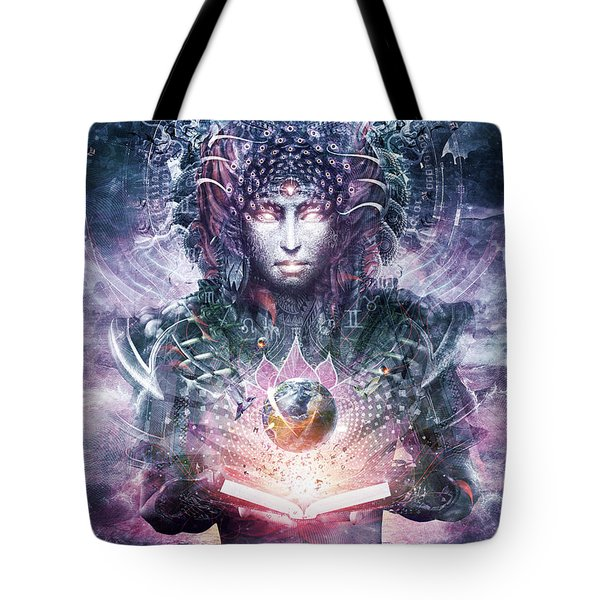 Ocean Atlas Tote Bag by Cameron Gray