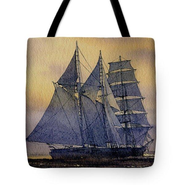 Ocean Dawn Tote Bag by James Williamson