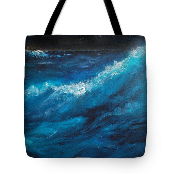 Ocean II Tote Bag by Patricia Motley