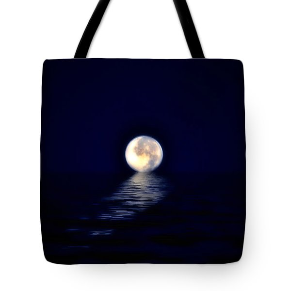 Ocean Moon Tote Bag by Bill Cannon