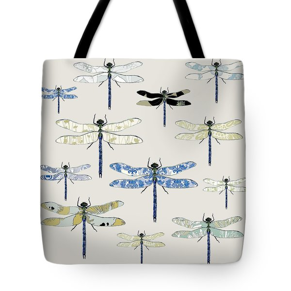 Odonata Tote Bag by Sarah Hough
