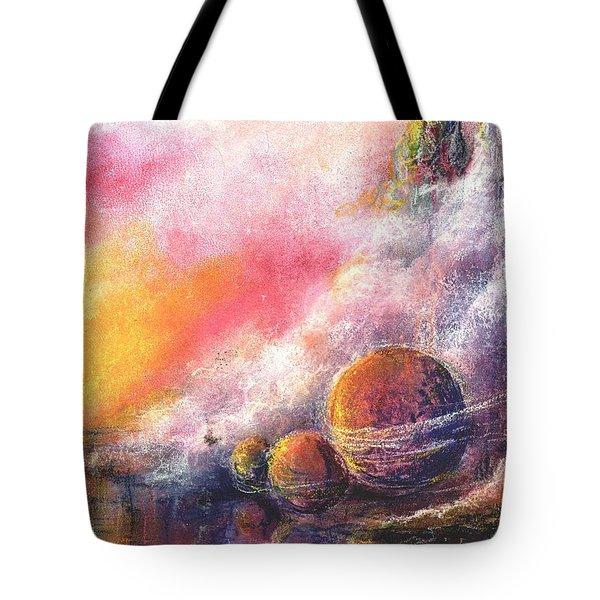 Odyessy Tote Bag by Melody Horton Karandjeff