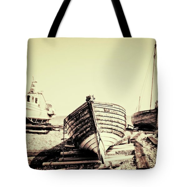 Of Different Eras Tote Bag by Meirion Matthias
