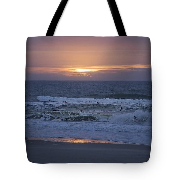 Office View Tote Bag by Betsy Knapp