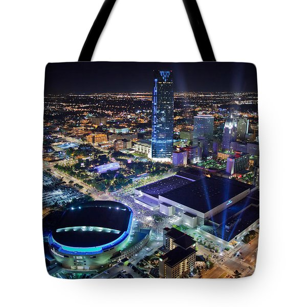 Okt001-26 Tote Bag by Cooper Ross