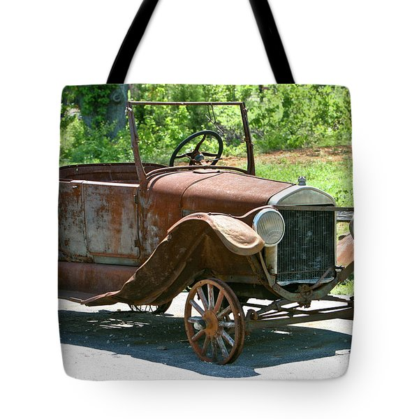 Old Antique Vehicle Tote Bag by Douglas Barnett