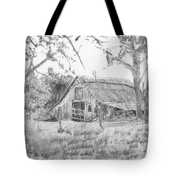 Old Barn 2 Tote Bag by Barry Jones