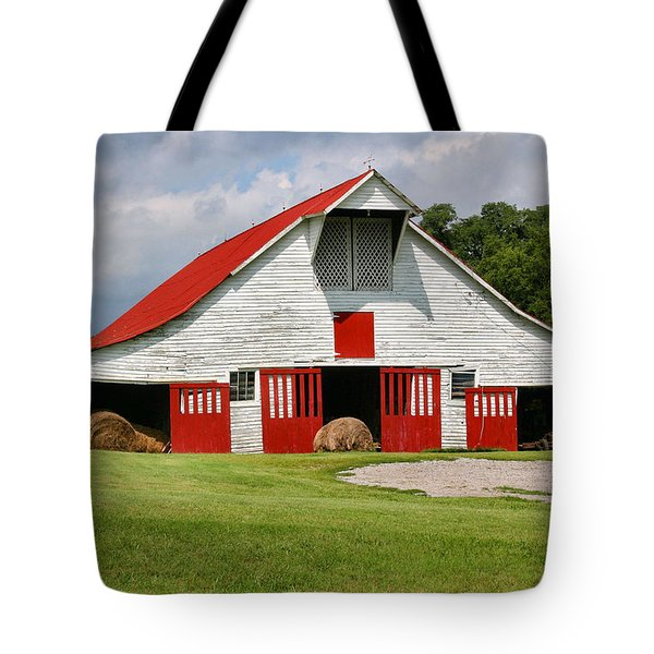 Old Barn Tote Bag by Kristin Elmquist