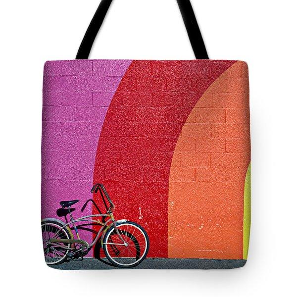 Old bike Tote Bag by Garry Gay