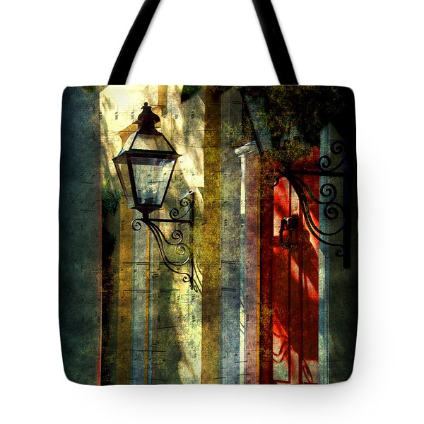 Old Charleston Sc Tote Bag by Susanne Van Hulst