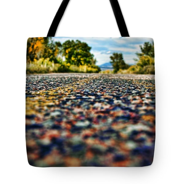 Old Country Road Tote Bag by Ray Laskowitz - Printscapes