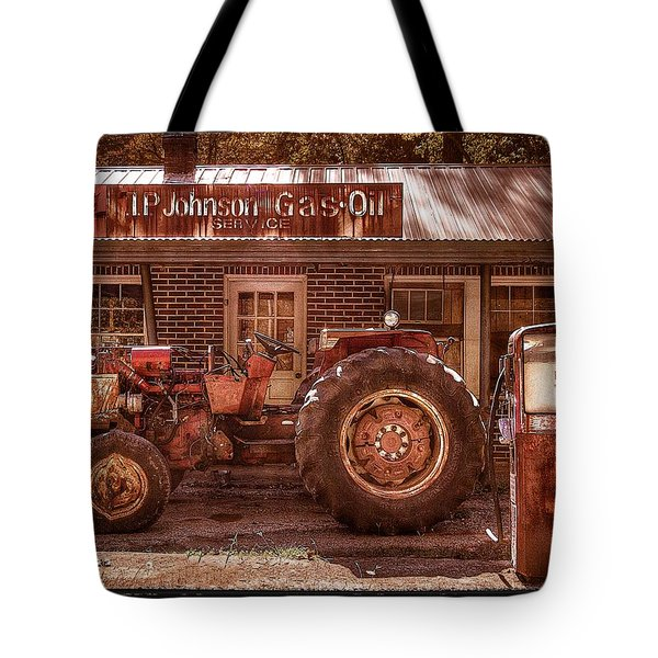 Old Days Vintage Tote Bag by Debra and Dave Vanderlaan