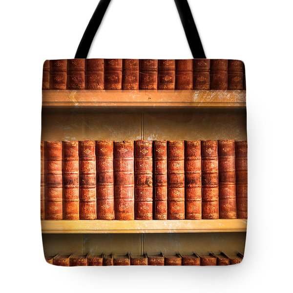 Old Library Tote Bag by Tom Gowanlock