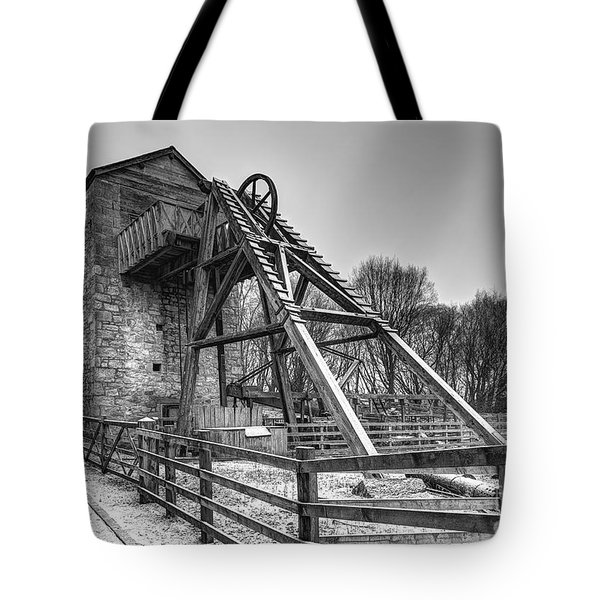 Old Mine Tote Bag by Adrian Evans
